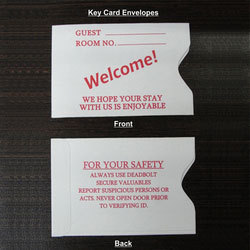 Key Card Envelope