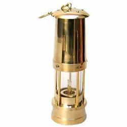 Brass Polish MKI Miners Lamp, Surface