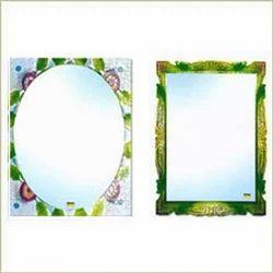 Fancy Decorative Mirrors, Thickness: 6 - 10 mm, Shape: Rectangular