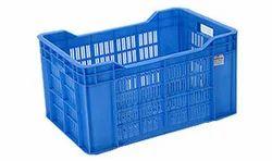Blue Rectangular Fruit Crates