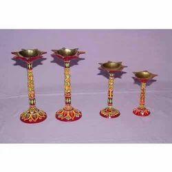 Standing Brass Diya