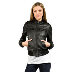 Women's Short Leather Jacket | Gommap Blog
