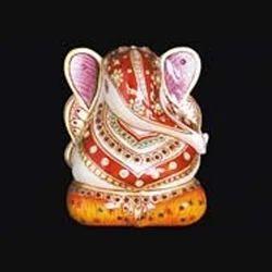 Marble Decorative Ganesha Statue