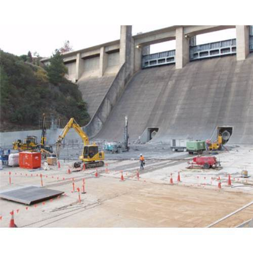 Drilling Amp Grouting Dam Foundation Grouting Service