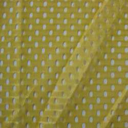 Green Warp Knit Mesh Fabric