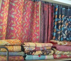 New Vintage Kantha Quilt