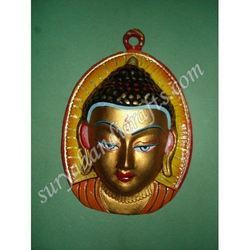 Meena Buddha Face With Painting