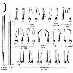 Dental Surgical Instruments