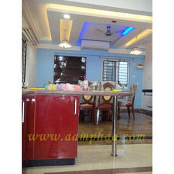 Dining room designing services in india for Kitchen dining hall design