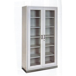 Steel Furniture Steel Glass Door Almirah Manufacturer