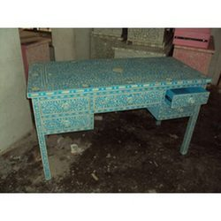 Decorative Blue Table