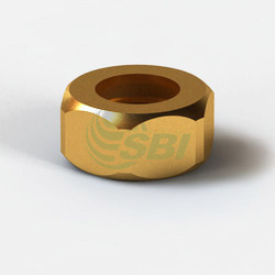 Brass Nut for Bend Pipe Connection