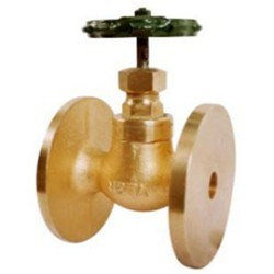 Neta Bronze Steam Stop Valve