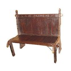 Cart Bench Old Style With Brass Work