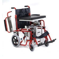 Seat Up And Sliding Wheelchair