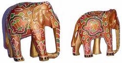 Papier Mache Elephants