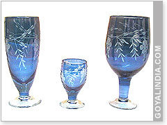 Glass Wine Goblets