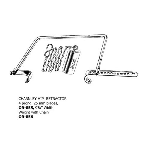 Charnley Hip Retractor | Staan Bio-med Engineering Private