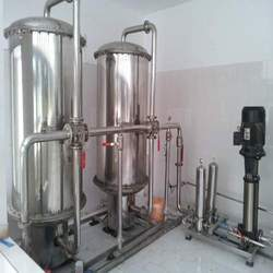 Semi - Automatic Water Purification Plants, Storage Capacity: 4000 L