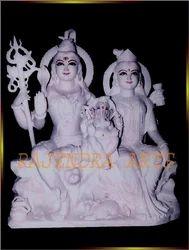 Lord Shiv Parvati Statues