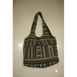 Stripped Cotton Striped Bags