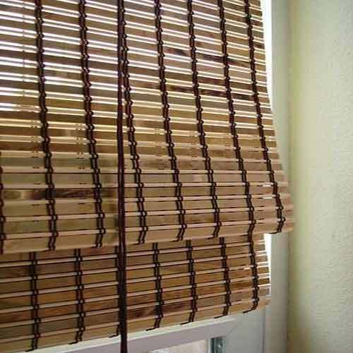 Rollup Bamboo Blinds At Rs 150 Square Feet S Bamboo