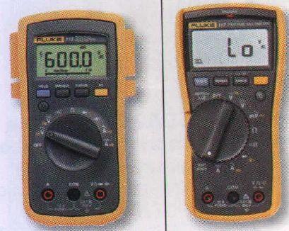 Fluke measuring Instruments - Fluke 116 and 114 Digital Multimeters