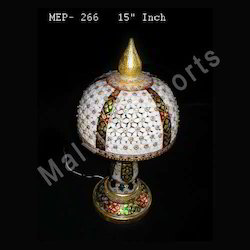 Round Marble Lamps