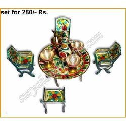 Meena Painting Chair Set