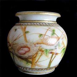 Round Marble Vase