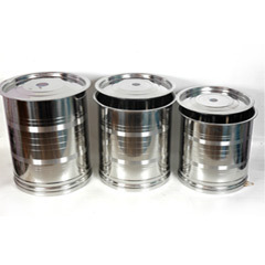Stainless Steel Stock Containers