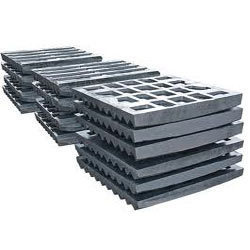 Manganese Industrial Jaw Plates