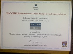 NSIC- CRISIL Performance and Credit Rating for Small Scale Industries