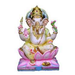 Marble Shree Ganesha Idol