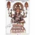 Brass Ganesh Head