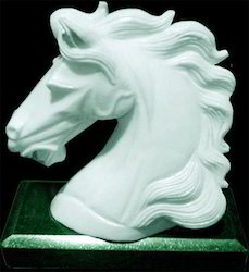 Marble Horse Bust