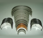 Walled Bearings And Bushings For Internal Combustion Engines
