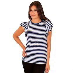 Ladies Striped T-Shirts