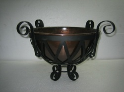 Victorian Basket with Bowls