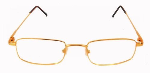 Gold Eyewear Frames - 18 KT Gold Reading Pintos Spectacles Frames ...