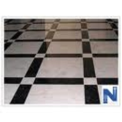 Marble Flooring With Black Border- Designing and Fixing