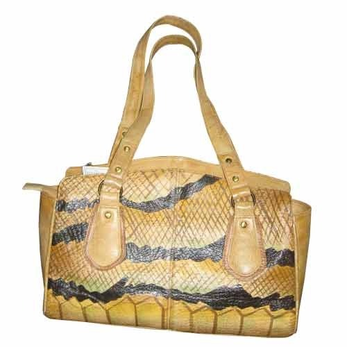 e5be68eb6 Hand painted leather Bags - Printed Leather Bags Manufacturer from ...
