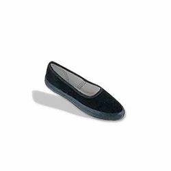 Girls Belly Black Shoe
