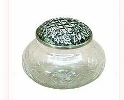 Glass Potpourri Bowl