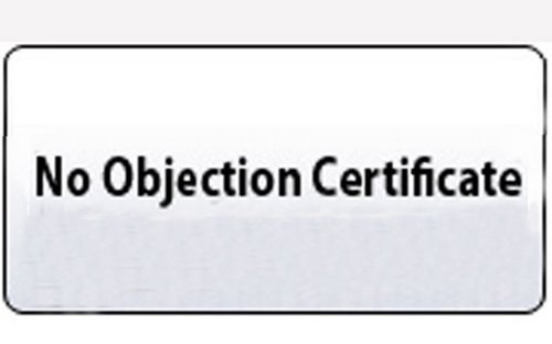 no objections certificate