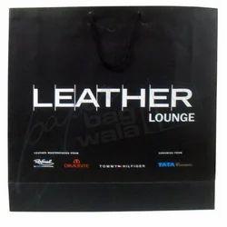 Black Square Type Laminated Bag