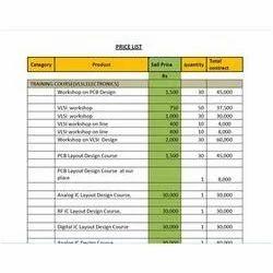 RFID Price List Services