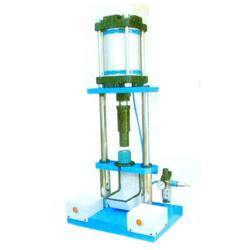 Bharat Semi-Automatic Pneumatic Cot Mounting Machine Table Model for Industrial