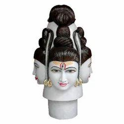 Marble Pashupati Nath Statue