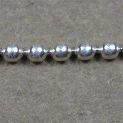 Sterling Enterprises Sterling Silver 1.25mm Ball Chain
